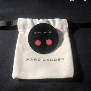 Marc Jacobs Pink Stud Earrings